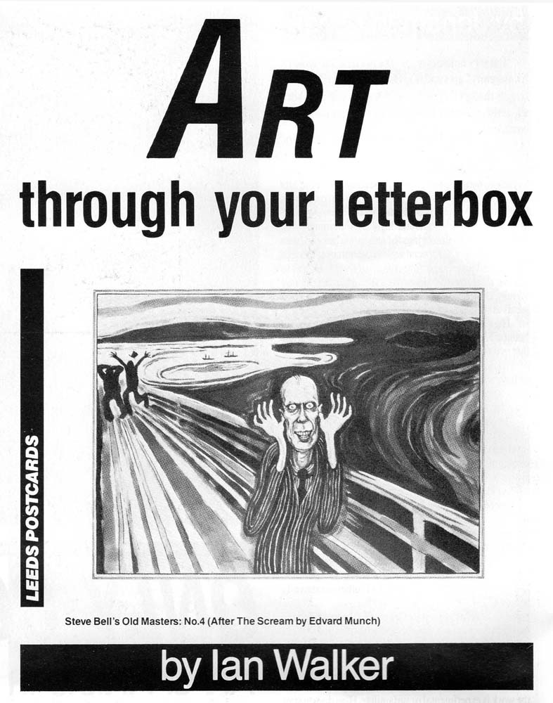 Art through your letterbox