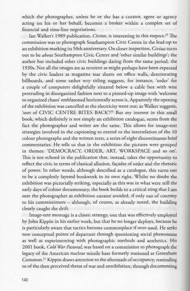 Text by Liz Wells on Civitas (2012)