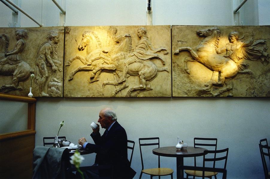 British Museum café, London