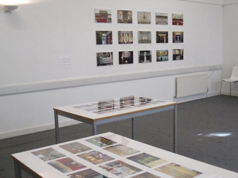 Installation of Frieze at SAFE Studios, 2015