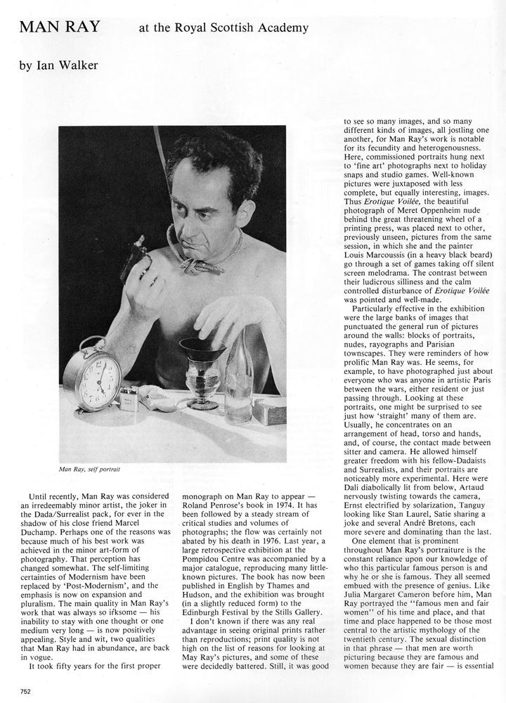 Man Ray Creative Camera review