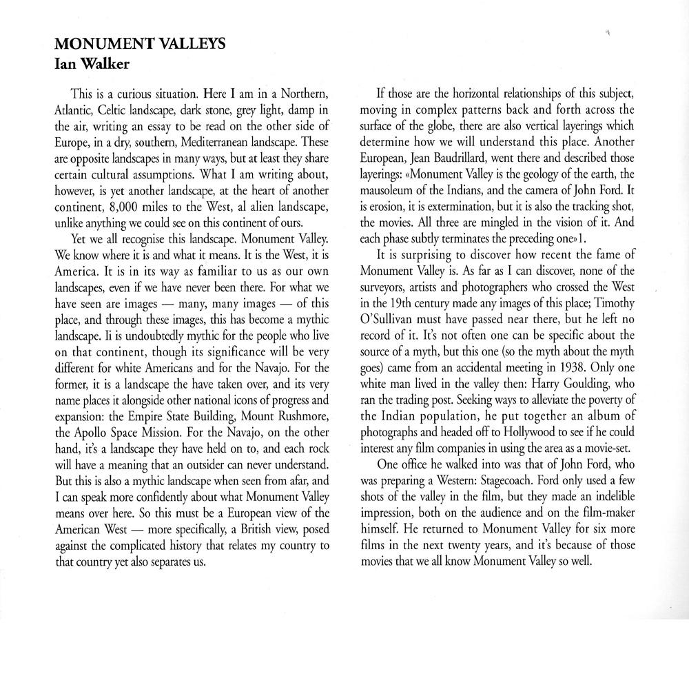 Monument Valleys