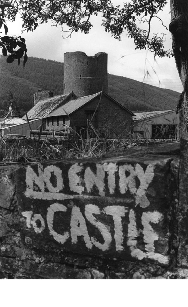 Tretower Castle, Powys