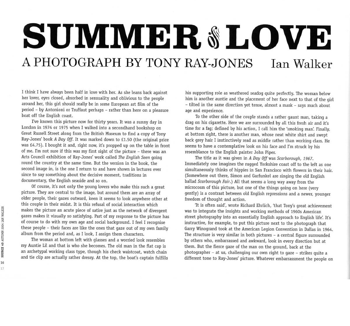 Tony Ray-Jones Summer of Love essay
