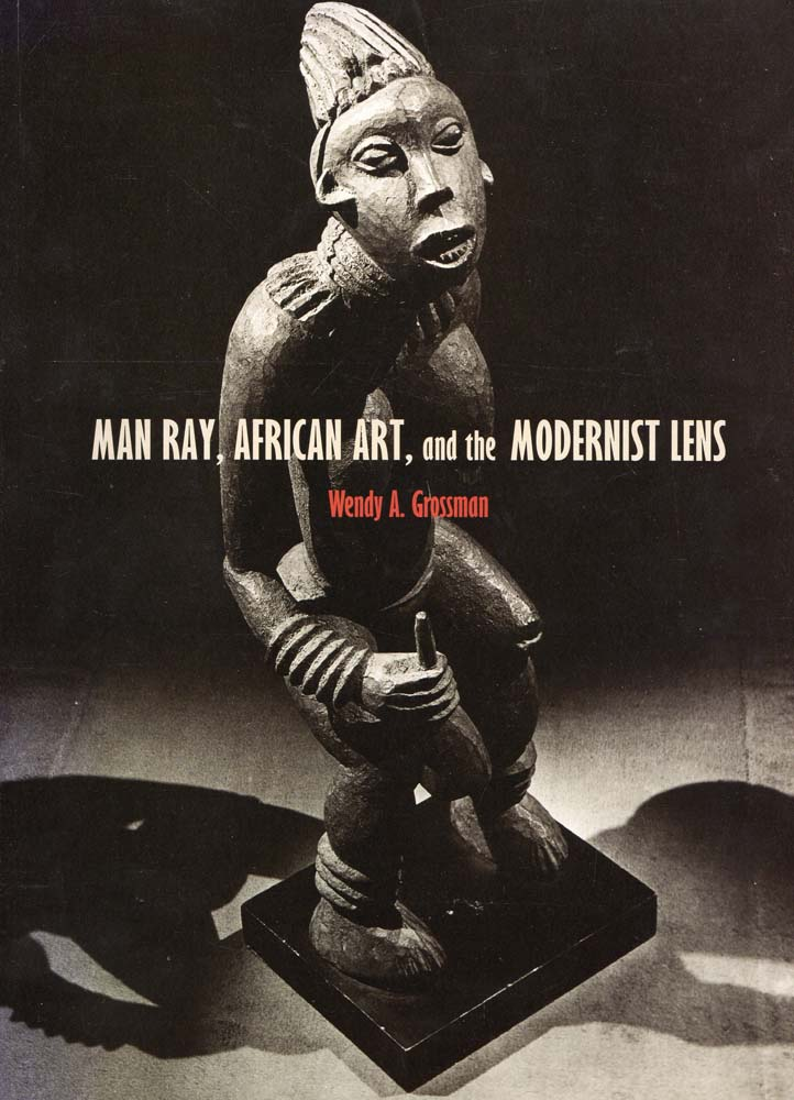 N COVER OF MAN RAY, AFRICAN ART